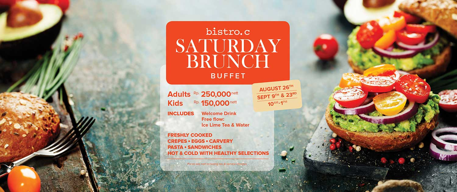 Sunday Brunch at Bistro C Smoke House Bali