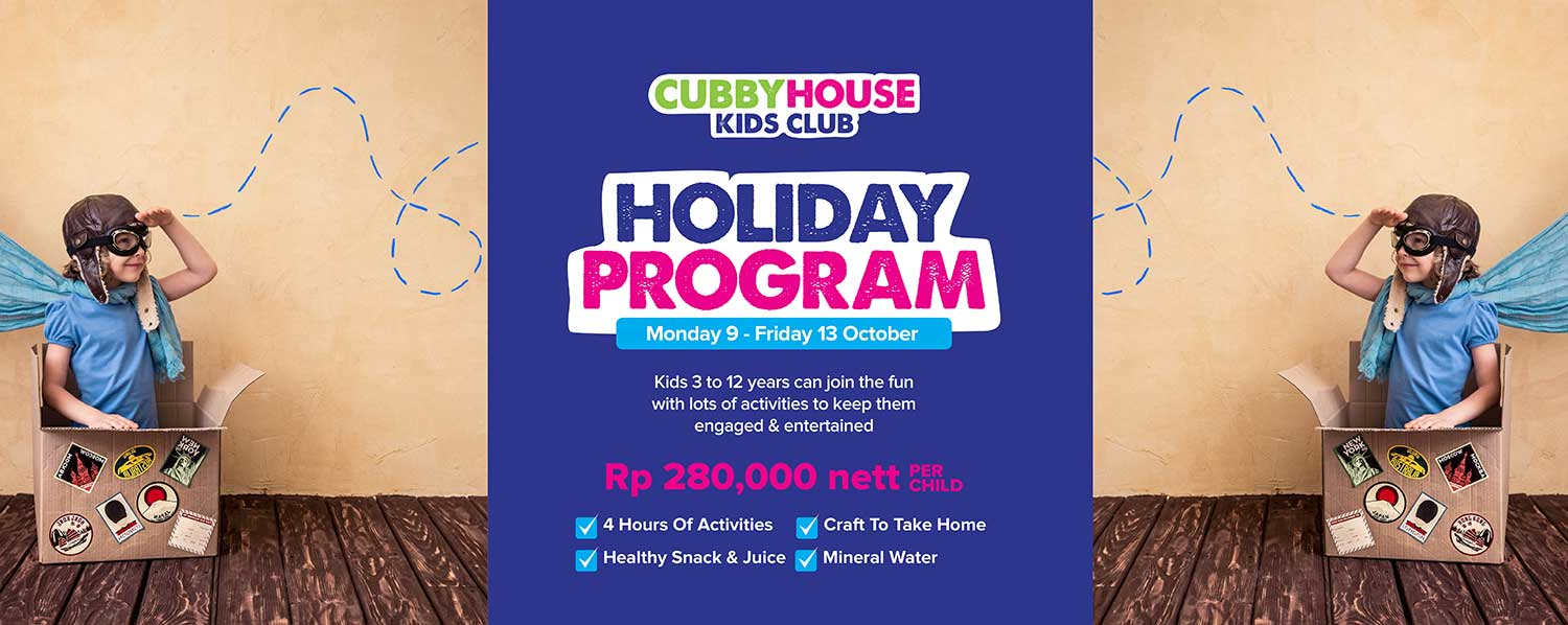 Cubby House Holiday Program
