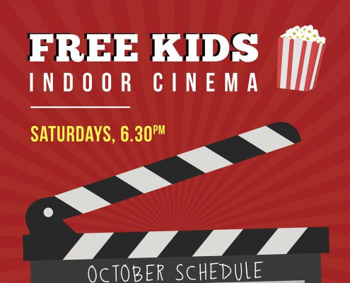 Free Kids Indoor Cinema
