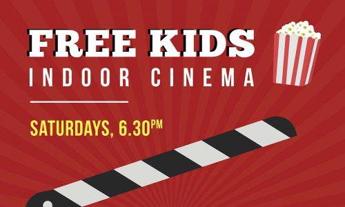 Free Kids Indoor Cinema