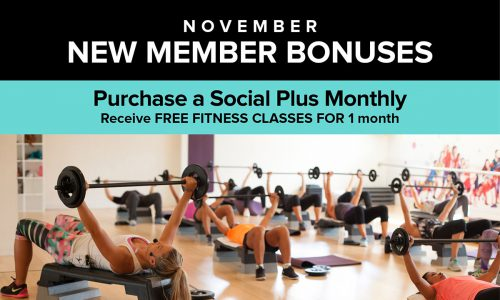 November New Member Bonuses
