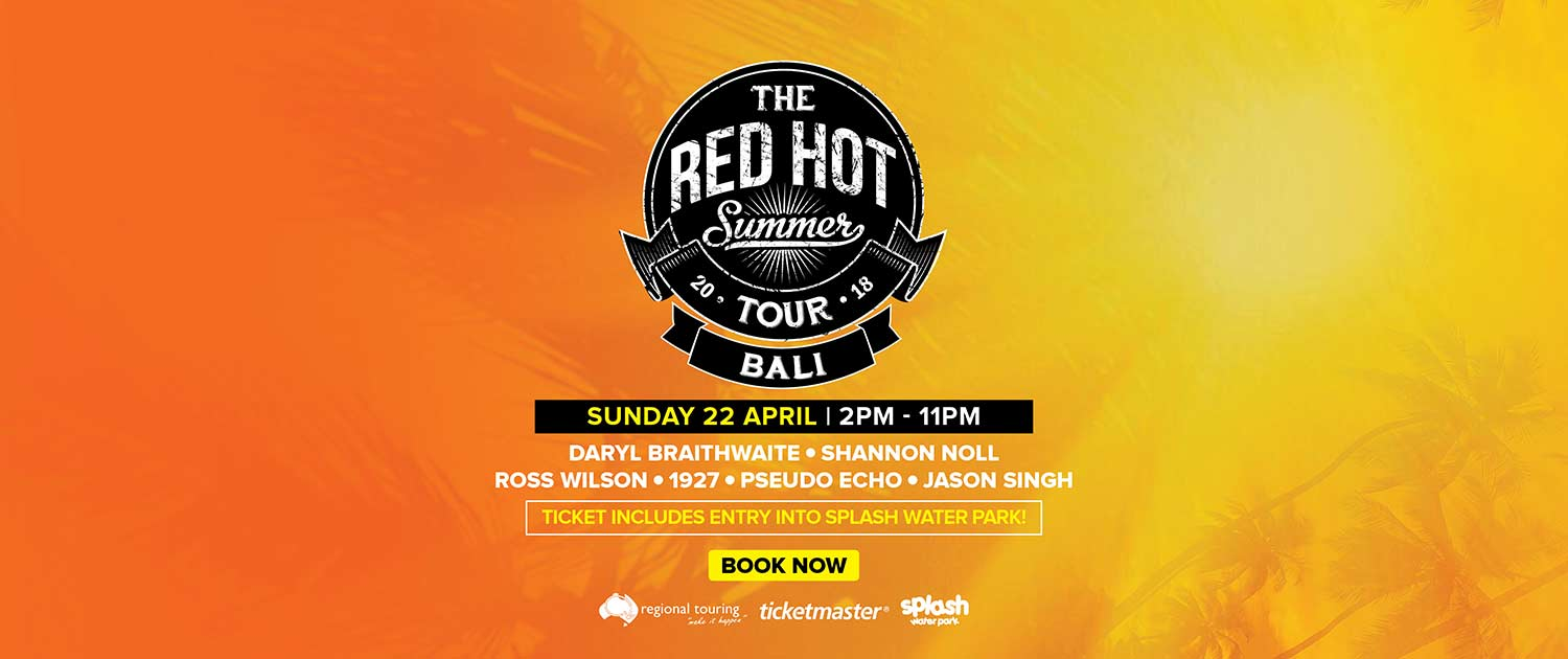 Red Hot Summer Tour Slide